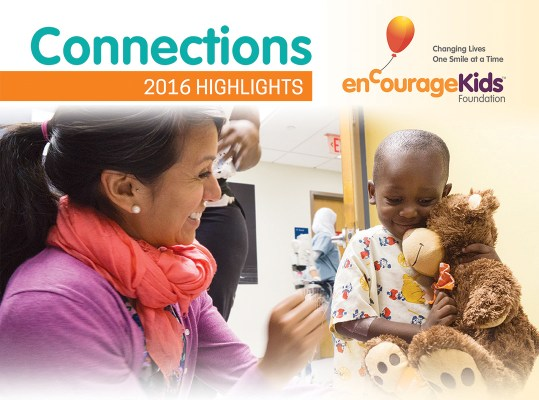 enCourage Kids Foundation 2016 Newsletter