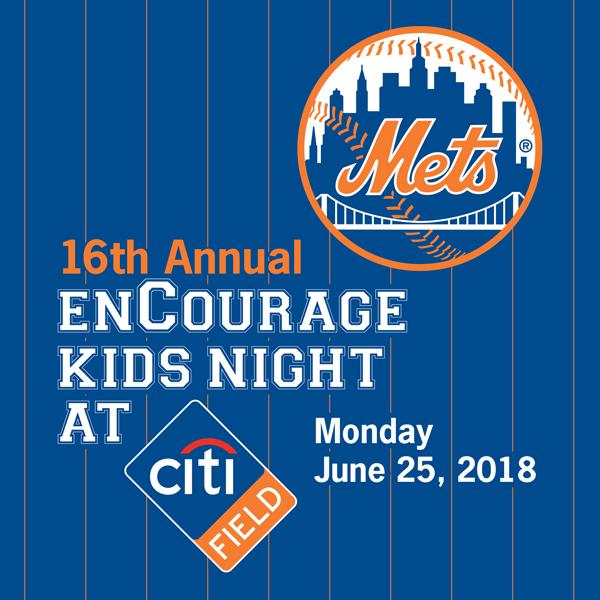 enCourage Kids Night at Citi Field