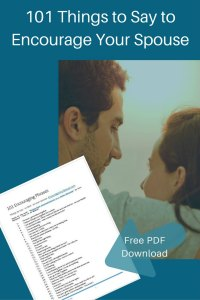 101 encouraging things to say to your spouse - free download PDF