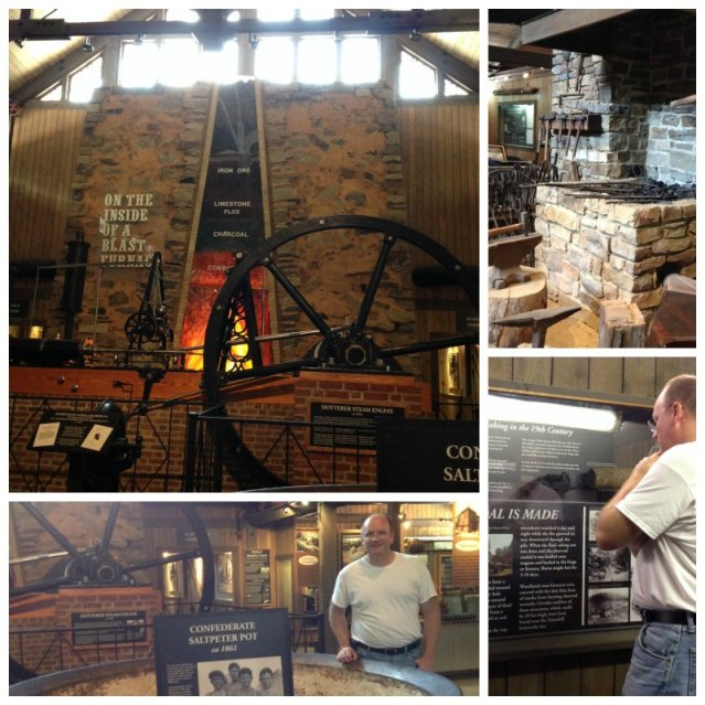 Tannehill collage Iron and Steel Museum