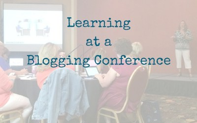 Learning at a Blog Conference