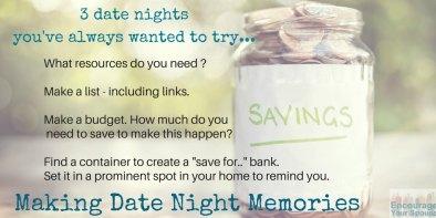 date night memories savings jar
