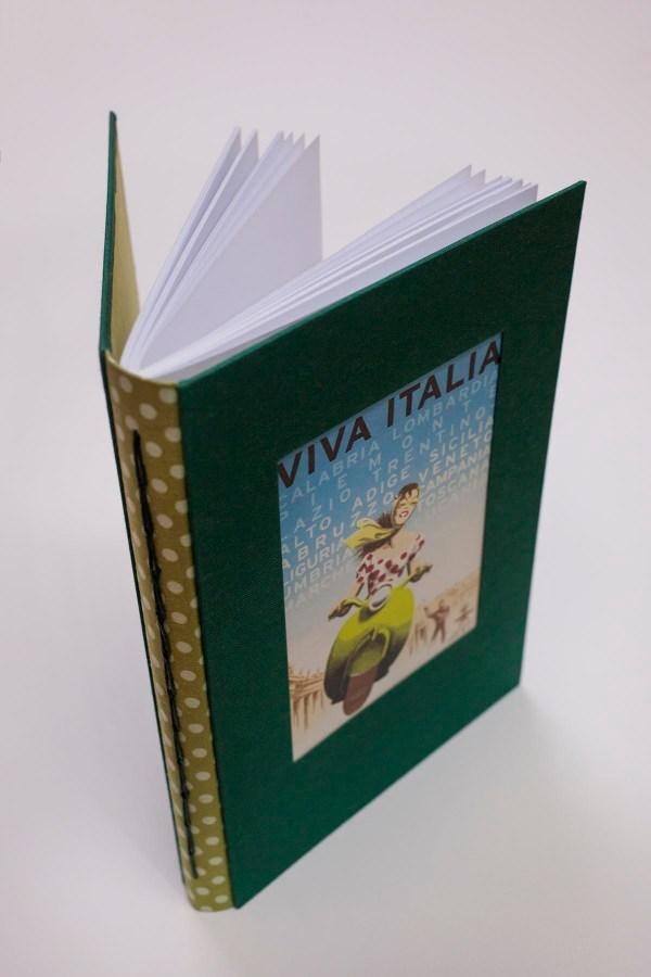 cuaderno de notas viva italia