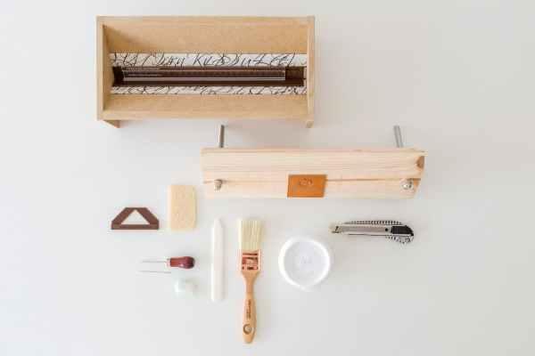 kit herramientas para encuadernación artesanal