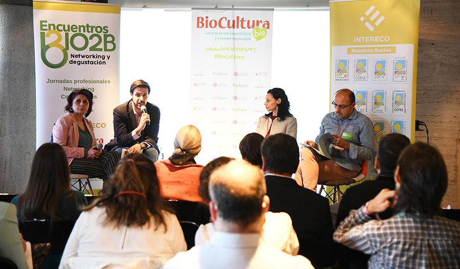 Gran acogida de los encuentros Bio2B en BioCultura Barcelona