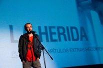 Fernando Franco presenta la película.