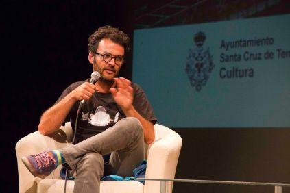 Jose Víctor Fuentes (Zac73dragon) durante el coloquio.