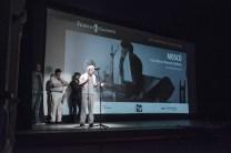 Rafael Navarro Miñón presenta la proyección.