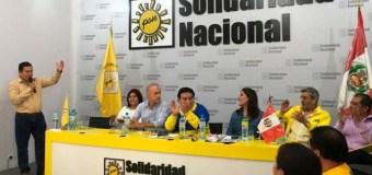 Candidatos al congreso favoritos de Solidaridad Nacional en Lima