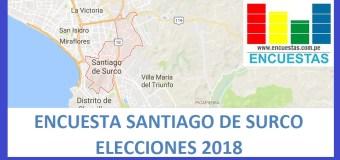 Encuesta Santiago de Surco – Setiembre 2018