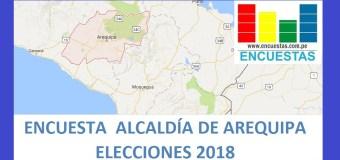 Encuesta Alcaldía Provincial de Arequipa – Setiembre 2018