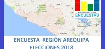 Encuesta Región Arequipa – Setiembre 2018
