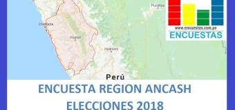 Encuesta Gobierno Regional de Ancash – Setiembre 2018