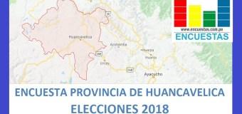 Encuesta Alcaldía de Huancavelica – Setiembre 2018