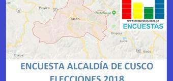 Encuesta Alcaldía Provincial de Cusco – Setiembre 2018