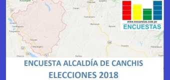Encuesta Alcaldía Provincial de Canchis – Agosto 2018