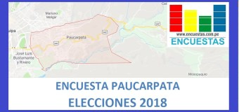 Encuesta Alcaldía de Paucarpata – Agosto 2018