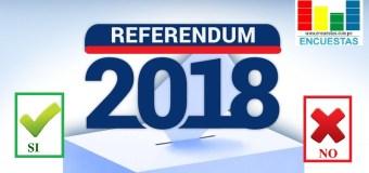 Encuesta Referéndum – Diciembre 2018
