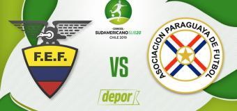 Sudamericano Sub-20: Ecuador 3 – 0 Paraguay EN VIVO