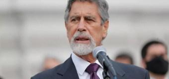 Aprobación de Francisco Sagasti bajó a 34% en enero 2021, según Ipsos Perú
