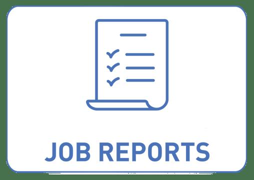 Reports Icon Blue