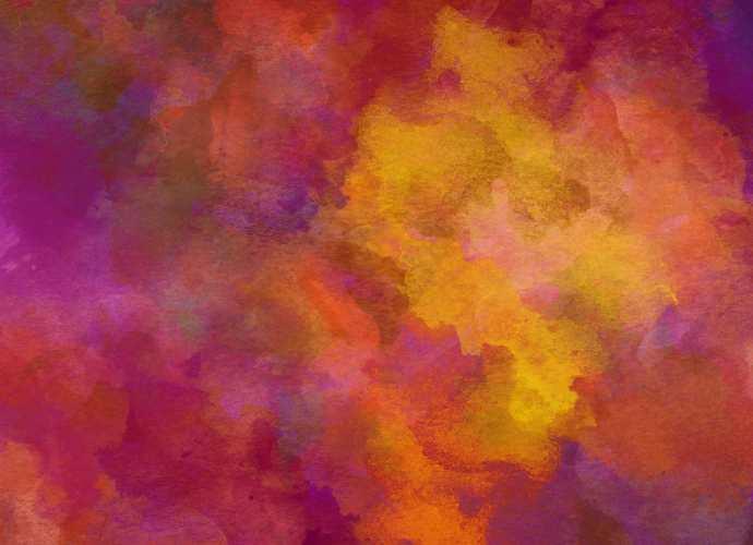 Watercolour texture warm colours