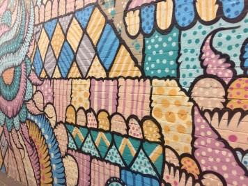 Newtown Street Art texture