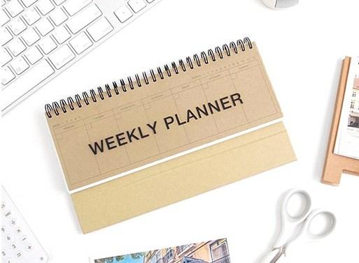 kraft-standing-weekly-planner