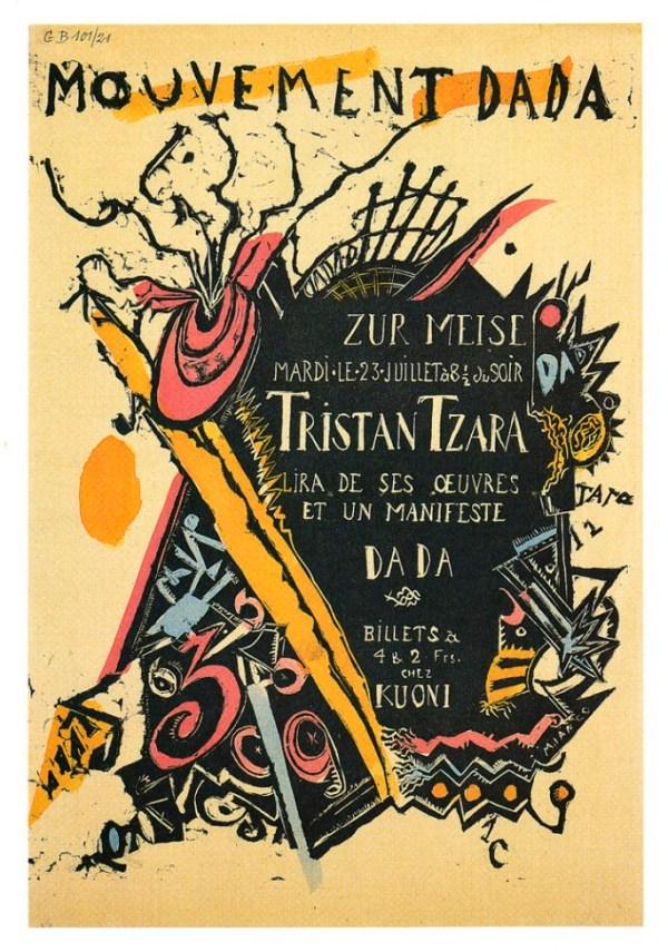 Marcel Janco's poster,