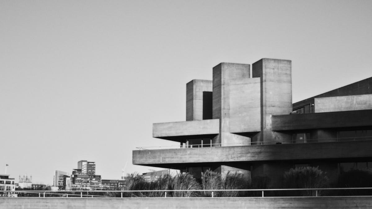 London brutalist buildings