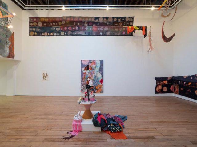 Installation view, Molly Zuckerman-Hartung, Learning Artist, Rachel Uffner Gallery