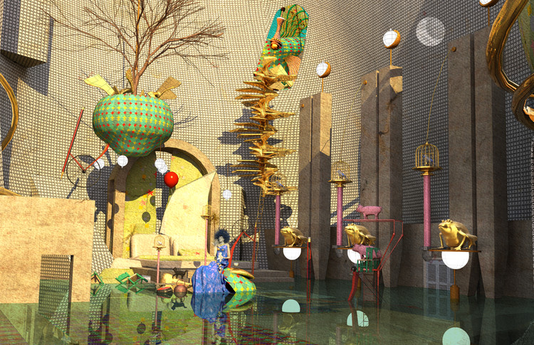 3rd Place: The Paper Moon. Image Courtesy of Blank Space