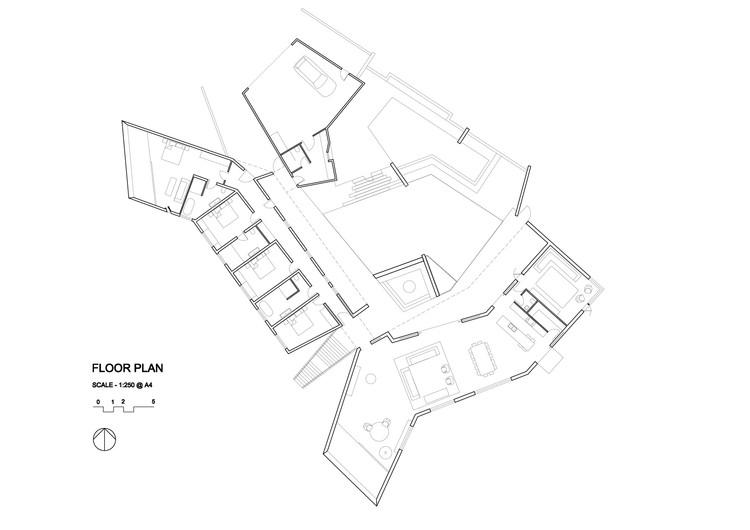 Main House / Floor plan