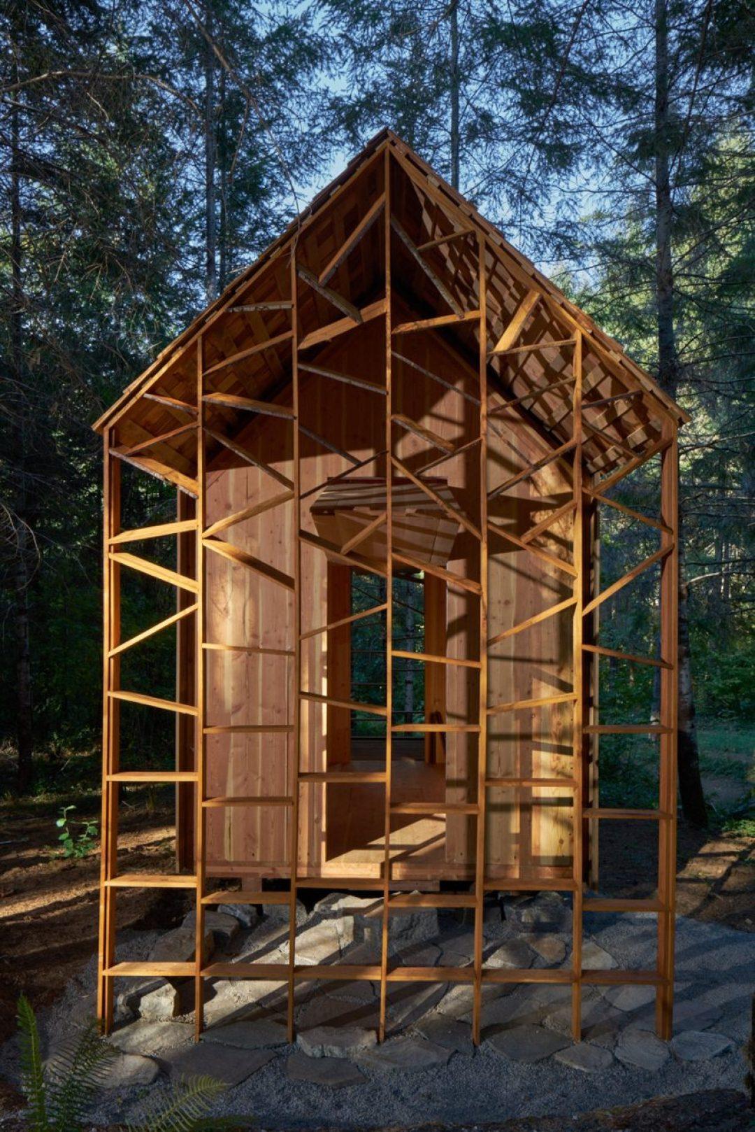 Emerge Oregon cabin by University of Nebraska