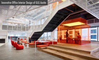 Innovative Office Interior Design of GLG Austin by Clive Wilkinson