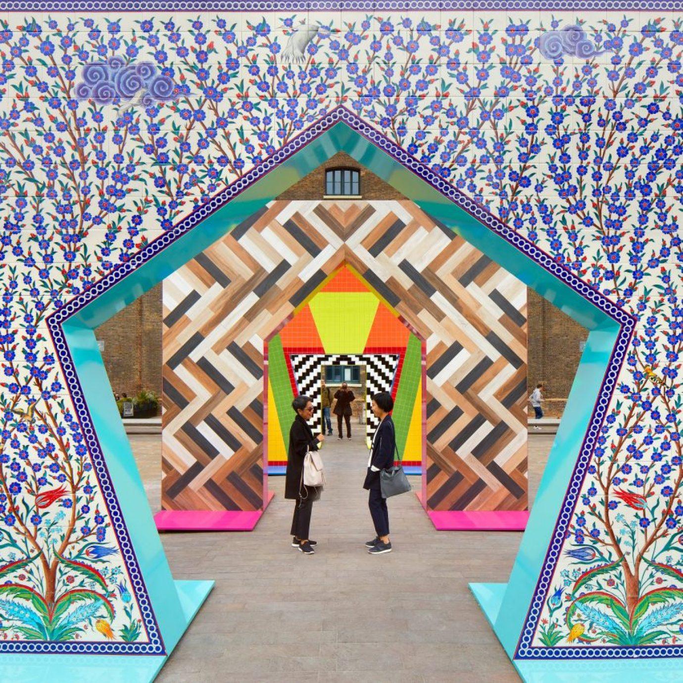 Gateways installation by Adam Nathanial Firman