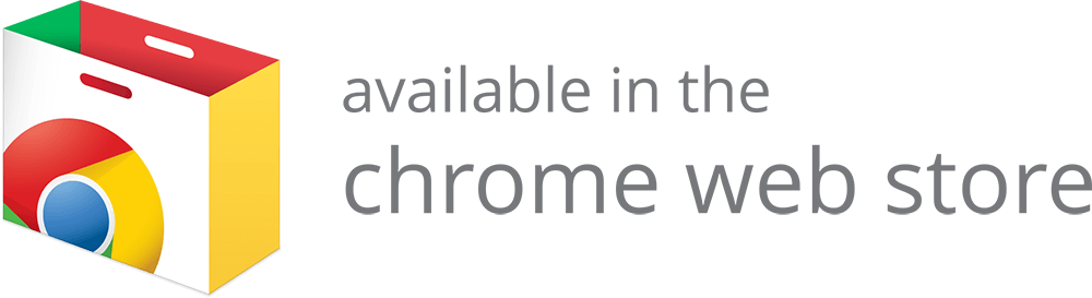 Webstore badge dark