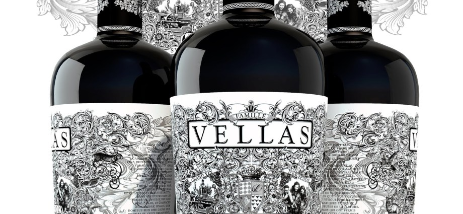 Vellas grenache wine bottles