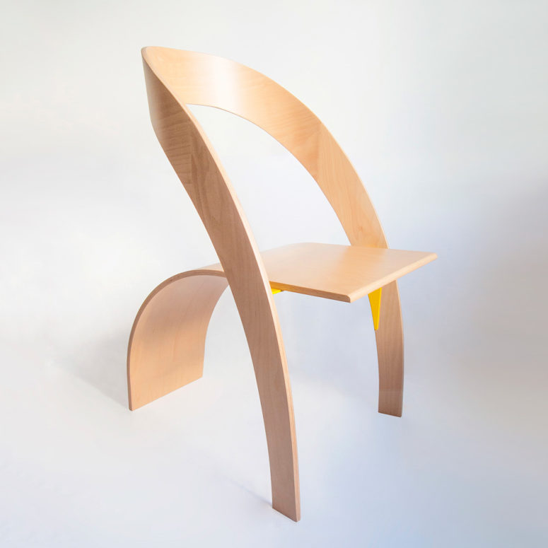 Counterpoise Plywood Chair