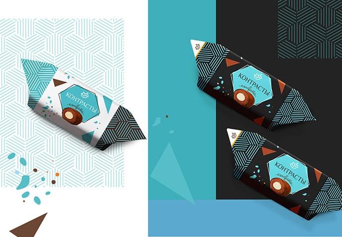 конфеты Candy wrapper design
