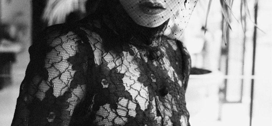 UK-Biba-Portrait-Brown-Lace-Evening-Dress