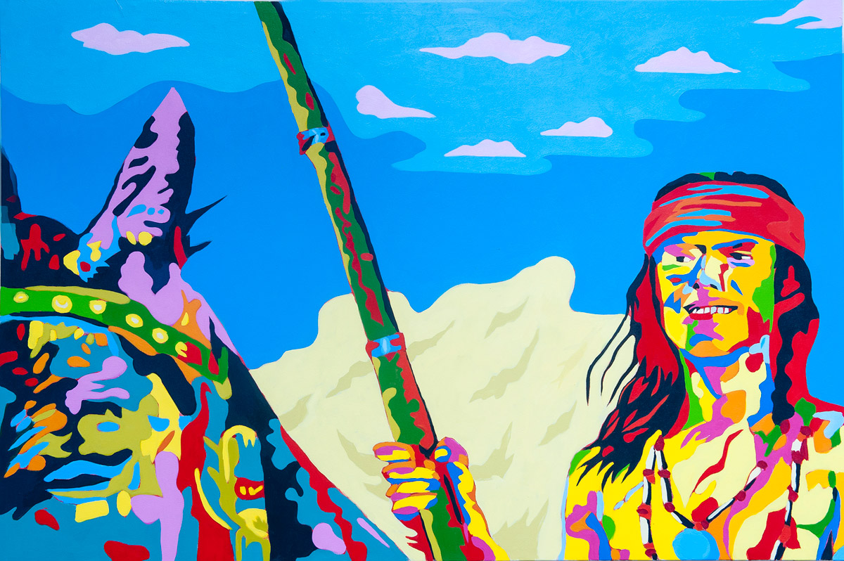 Jean Paul Langlois - pop and pulp art