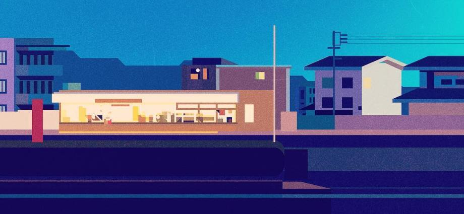 Minimalist retro style illustrations by James Gilleard