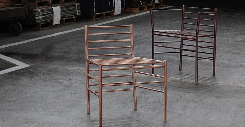Ryu Kozeki resin infused chairs