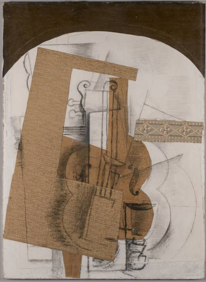 Georges Braque - The Violin