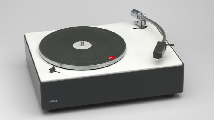 Braun ps2 stereo turntable