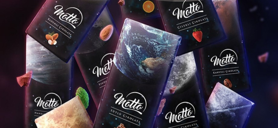 Motto Chocolate Package Design