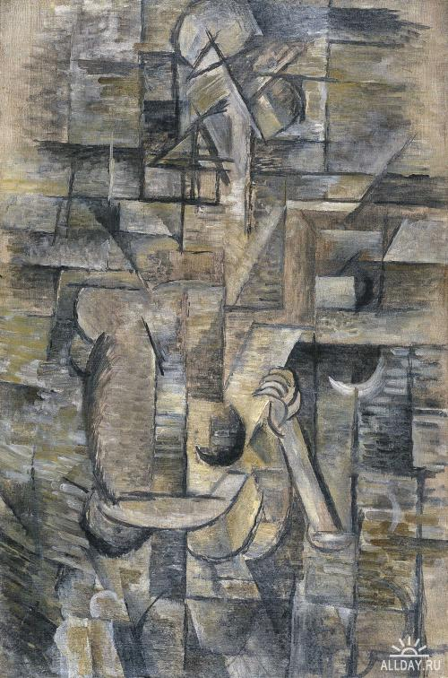 Georges Braque - Woman with a Mandolin