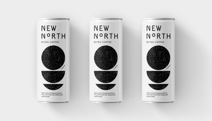 New North Nitro Coffee branding