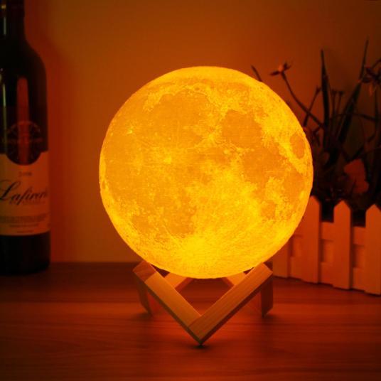 Spherical LED Moon Light